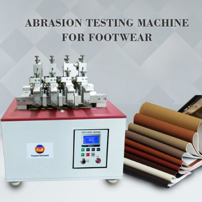 Abrasion Testing Machine For Footwear