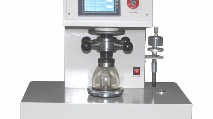 Digital Bursting Strength Tester Research Background And Development