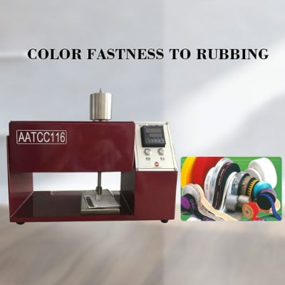 Color Fastness To Rubbing