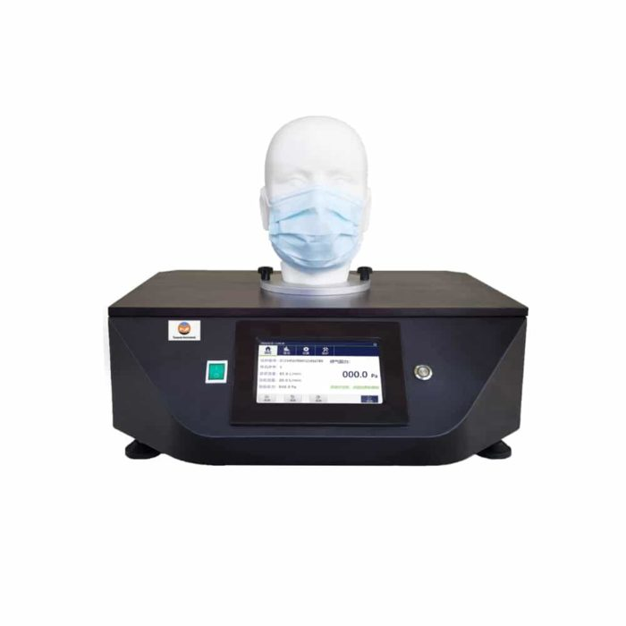 Mask Breathing Resistance Tester