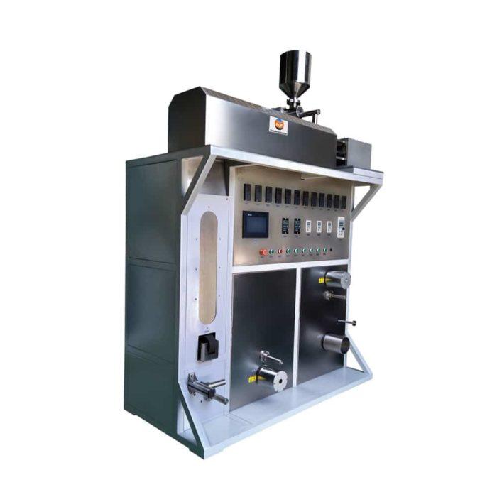 pitch Melt spinning machine