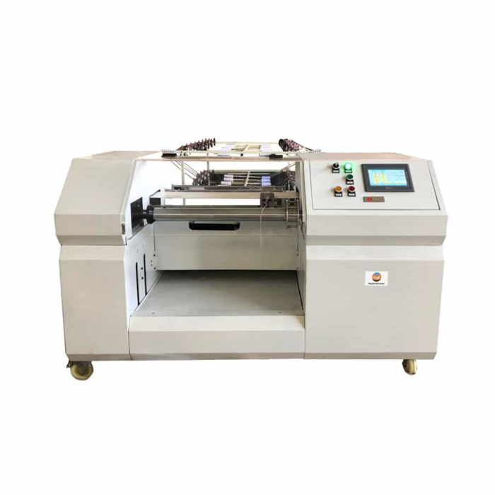 Small size sectional warping machine