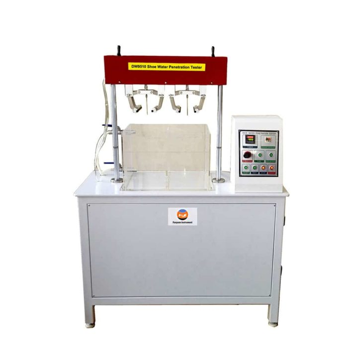 shoe water penetration tester