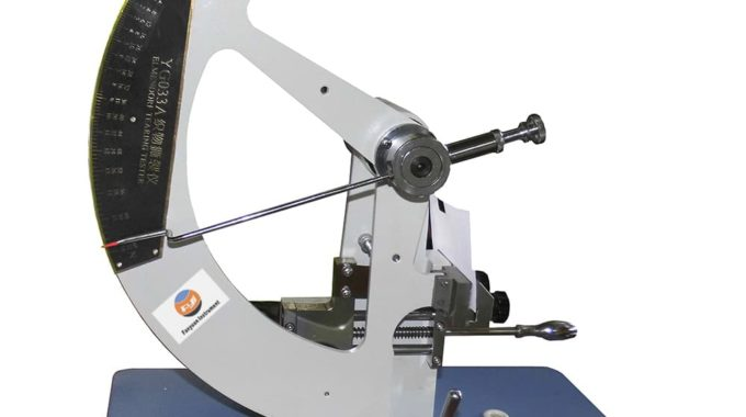 Elmendorf Tear Tester Introduction