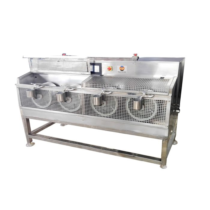 Leather Multi-drum Dyeing Machine