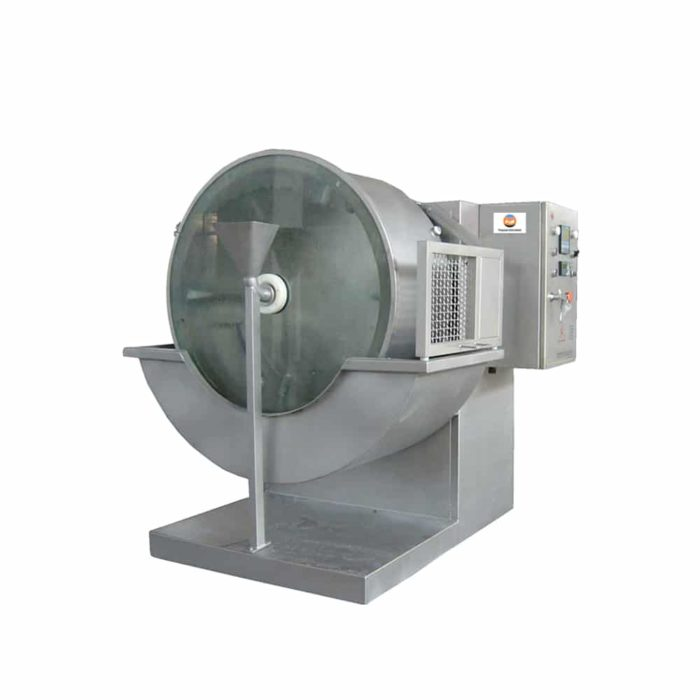 Leather drum dyeing machine