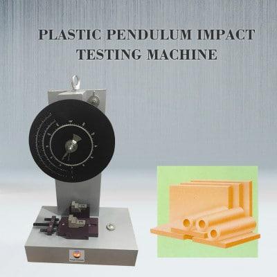 Plastic Pendulum Impact Testing Machine