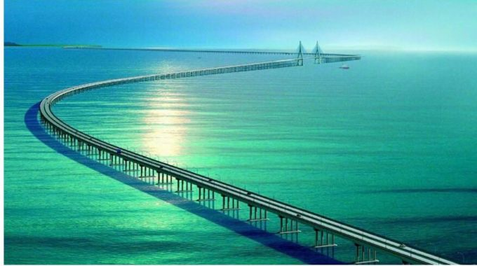 Special Textile Design Used In The Hong Kong-Zhuhai-Macao Bridge