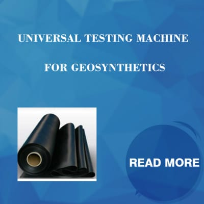 Universal Testing Machine For Geosynthetics