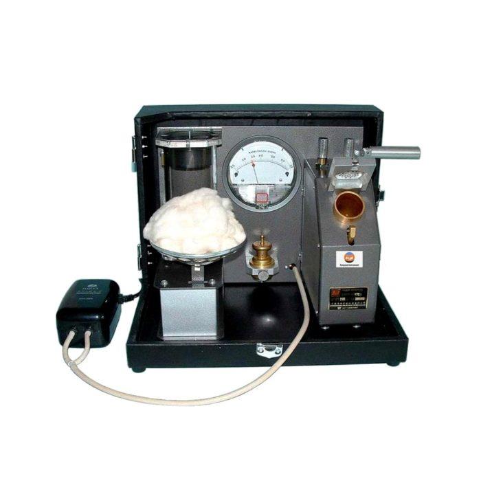 Micronaire tester