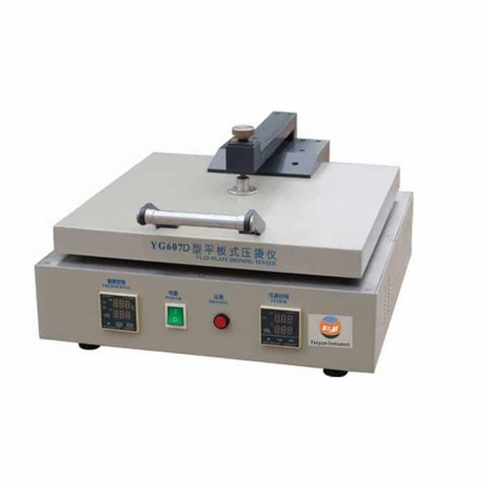 hot flat ironning tester