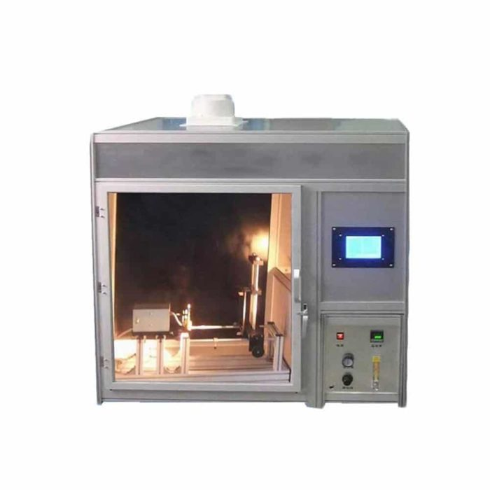 protective clothing flammability tester