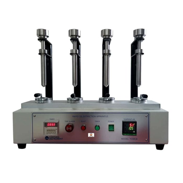 rapid oil extraction apparatus