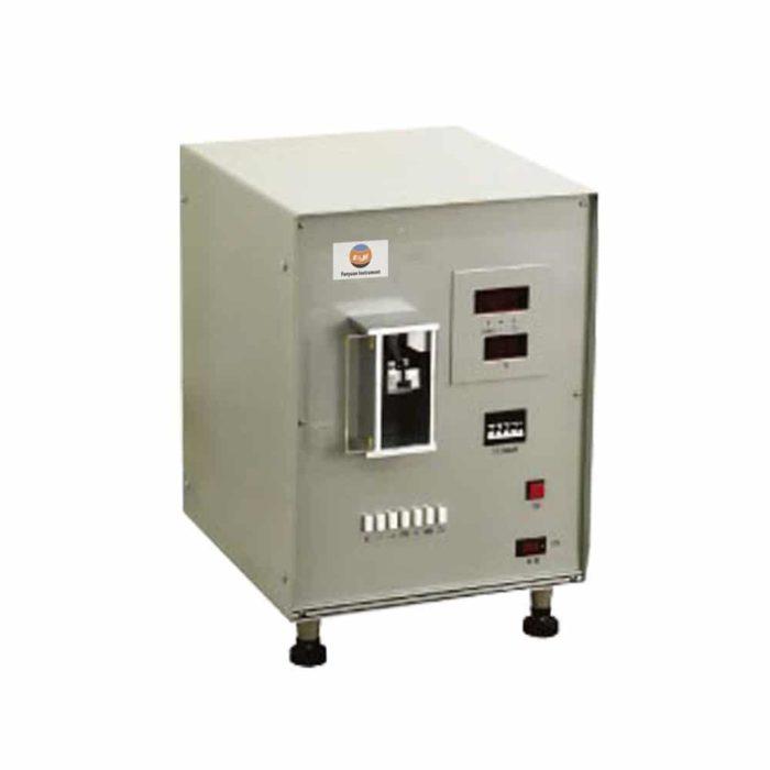 Vibration fiber fineness tester