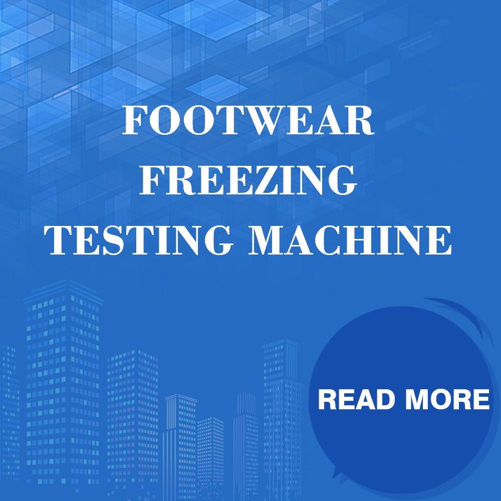 Footwear Freezing Testing Machine
