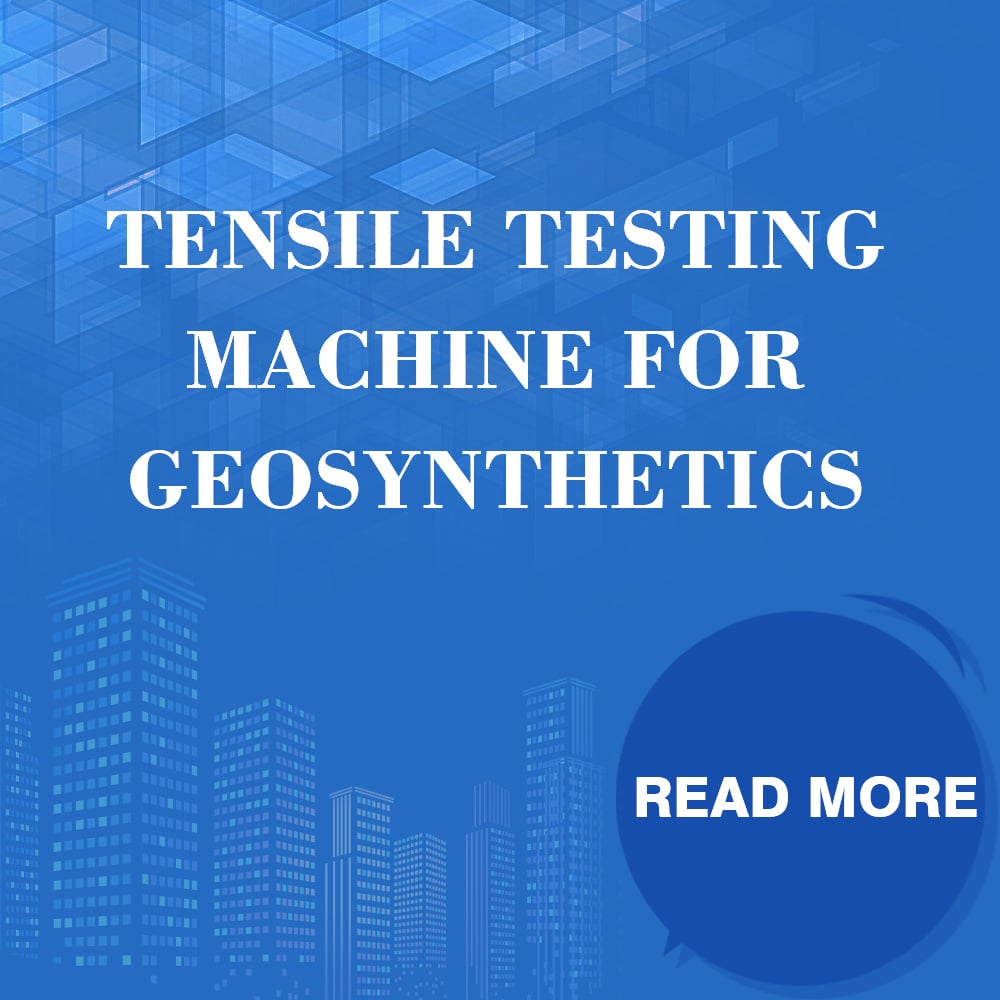 Tensile Testing Machine For Geosynthetics