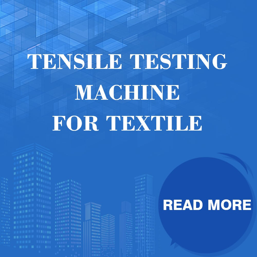 Tensile Testing Mchine For Textile